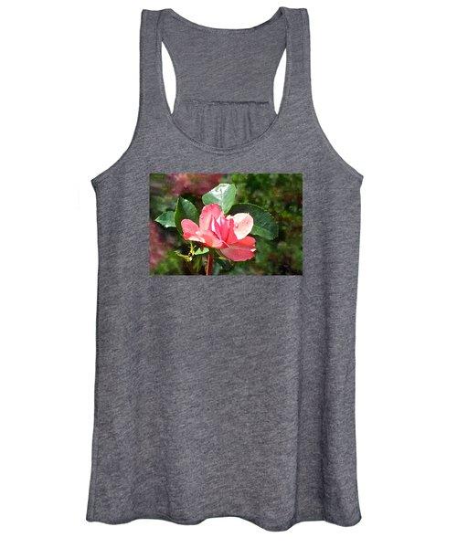Pink Roses In The Rain 2 Women's Tank Top