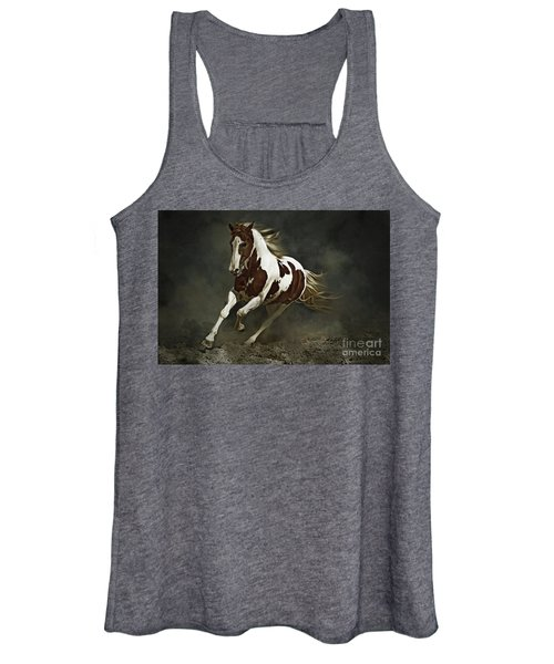 Pinto Horse In Motion Women's Tank Top