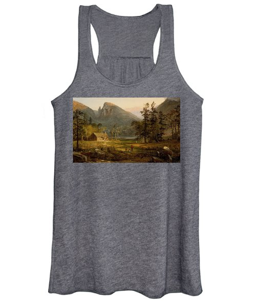 Pioneer's Home Eagle Cliff  White Mountains Women's Tank Top