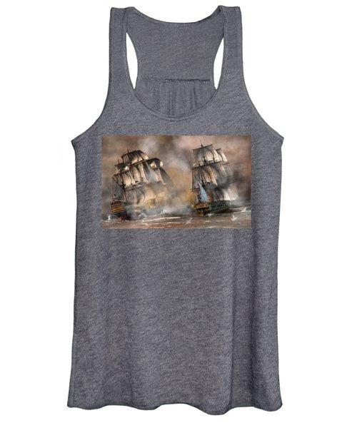 Pirate Battle Women's Tank Top