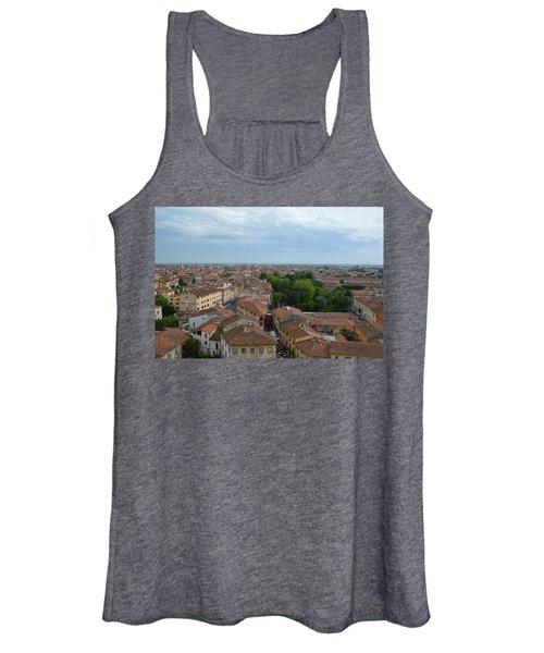 Pisa From Above Women's Tank Top
