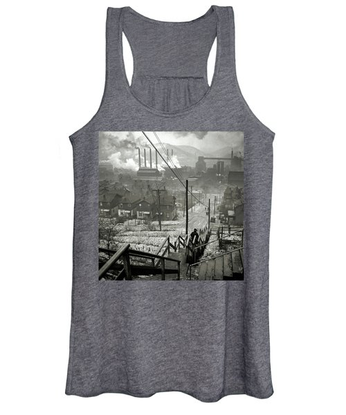 Pittsburgh Mill District  1940 Women's Tank Top