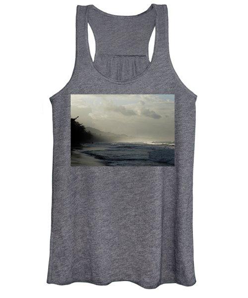 Playa Negra Beach At Sunset In Costa Rica Women's Tank Top