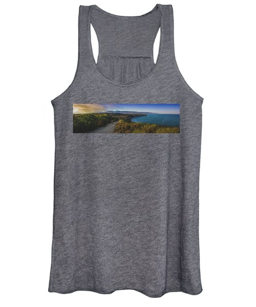 Point Dume Sunset Panorama Women's Tank Top