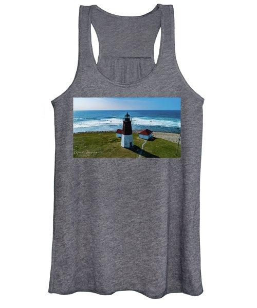 Point Judith Lighthouse Women's Tank Top