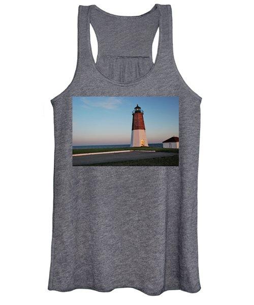 Point Judith Lighthouse Rhode Island Women's Tank Top