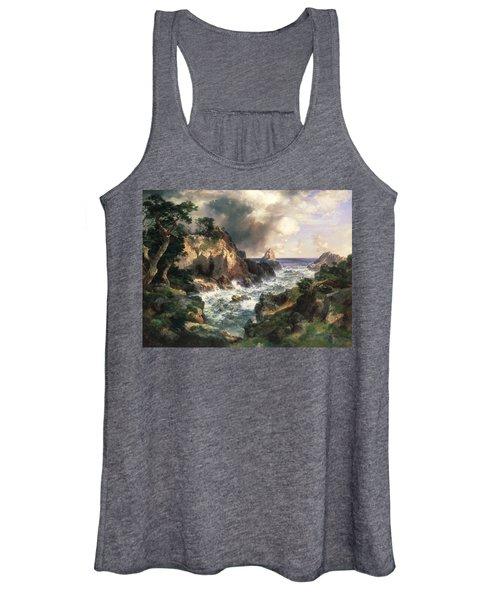 Point Lobos Monterey California Women's Tank Top