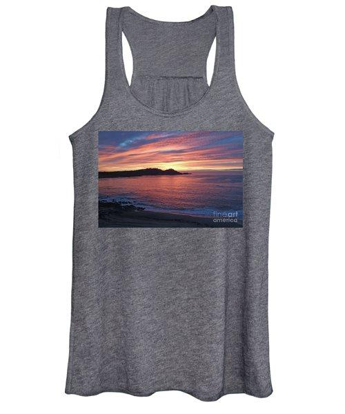 Point Lobos Red Sunset Women's Tank Top