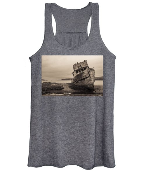Point Reyes Shipwreck Women's Tank Top