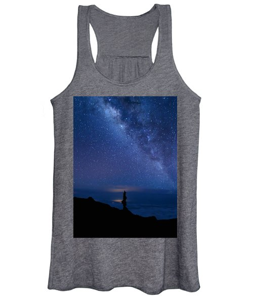 Pointing To The Heavens Women's Tank Top