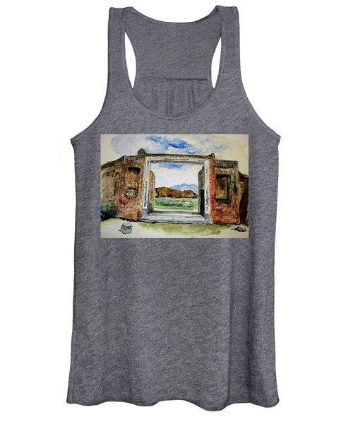 Pompeii Doorway Women's Tank Top