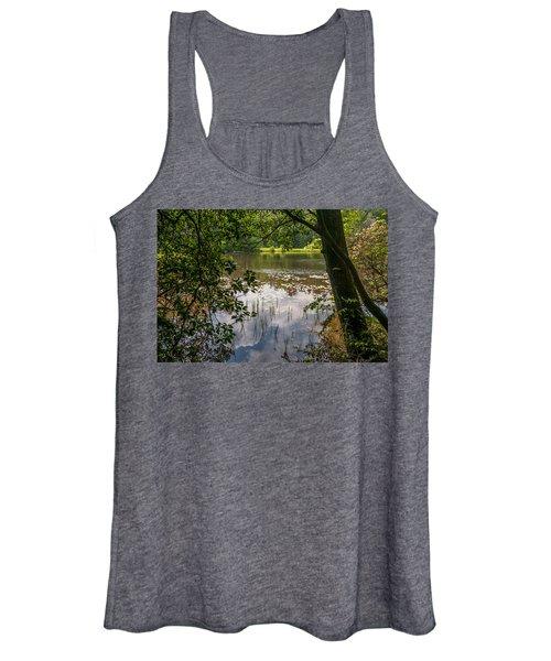 Pond In Spring Women's Tank Top