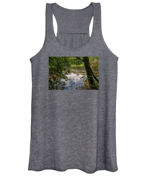 Pond In Spring Women's Tank Top