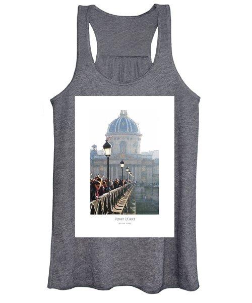 Pont D'art Women's Tank Top