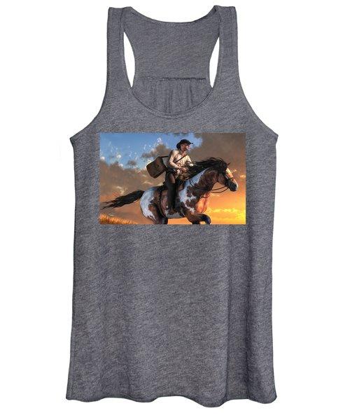 Pony Express Women's Tank Top
