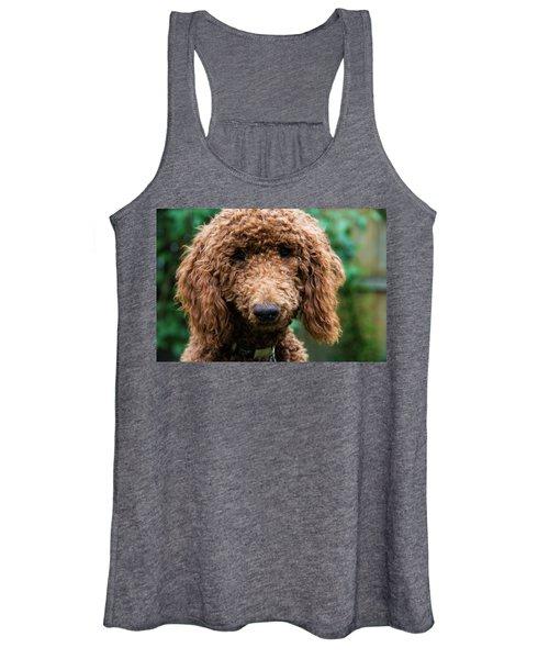Poodle Pup Women's Tank Top