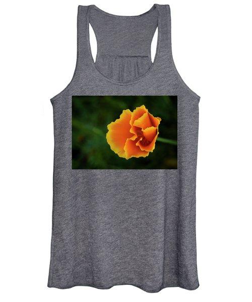 Poppy Orange Women's Tank Top