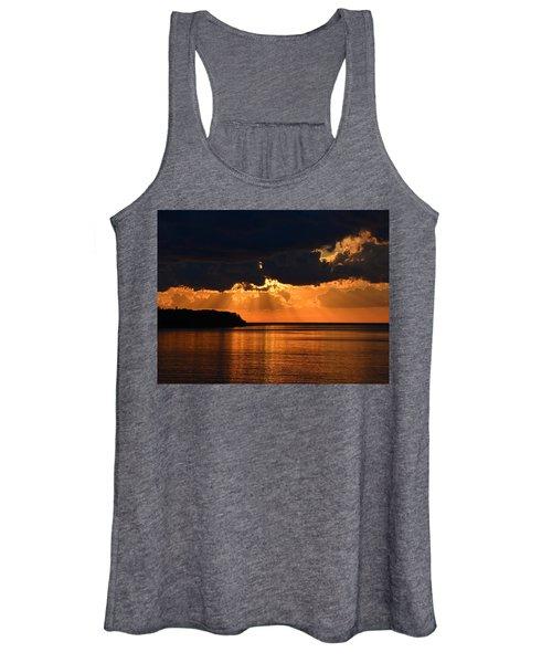 Porcupine Mountains Superior Sunset Women's Tank Top
