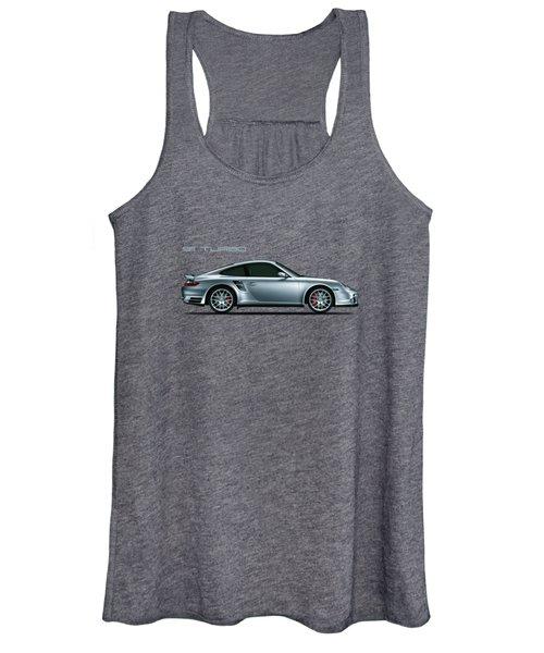 Porsche 911 Turbo Women's Tank Top