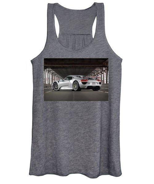 #porsche #918spyder #print Women's Tank Top