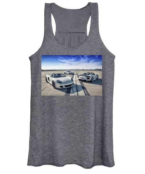 #porsche #carreragt,  #918spyder,  #cayman #gt4 Women's Tank Top