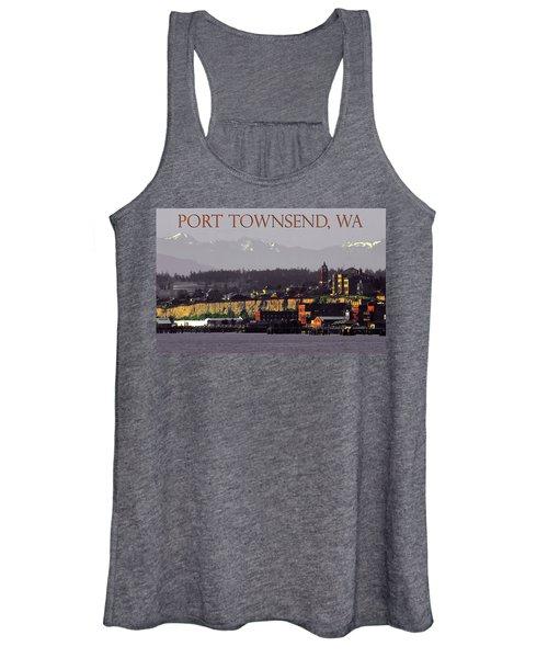Port Townsend Washington Women's Tank Top