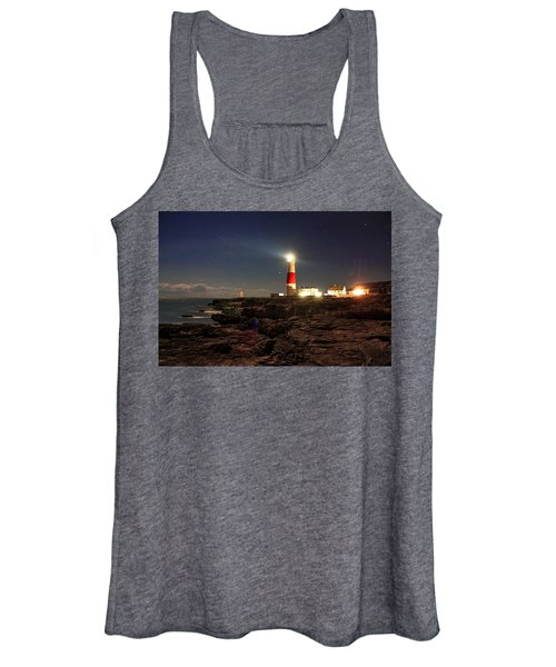 Portland Bill Lighthouse Women's Tank Top