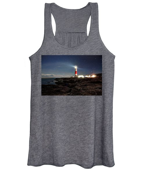 Portland Bill Lighthouse Uk Women's Tank Top