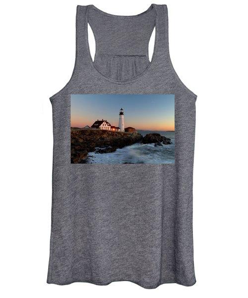 Portland Head Lighthouse Sunrise Women's Tank Top