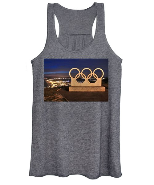 Portland Olympic Rings Women's Tank Top