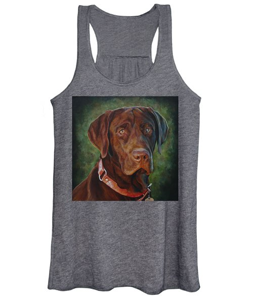 Portrait Of Remington 0094_2 Women's Tank Top