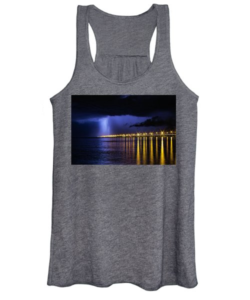 Women's Tank Top featuring the photograph Power Of God by Pete Federico