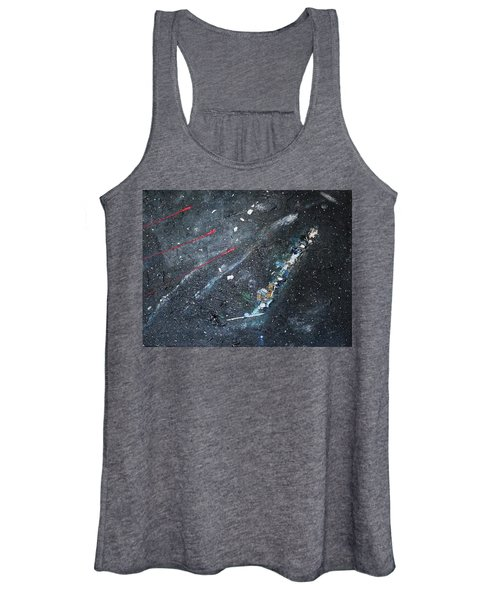 Women's Tank Top featuring the painting Prana by Michael Lucarelli