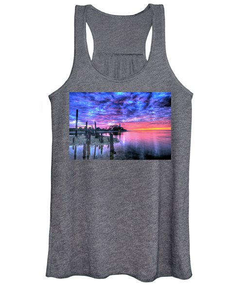 Pre Dawn At St. Marks #1 Women's Tank Top