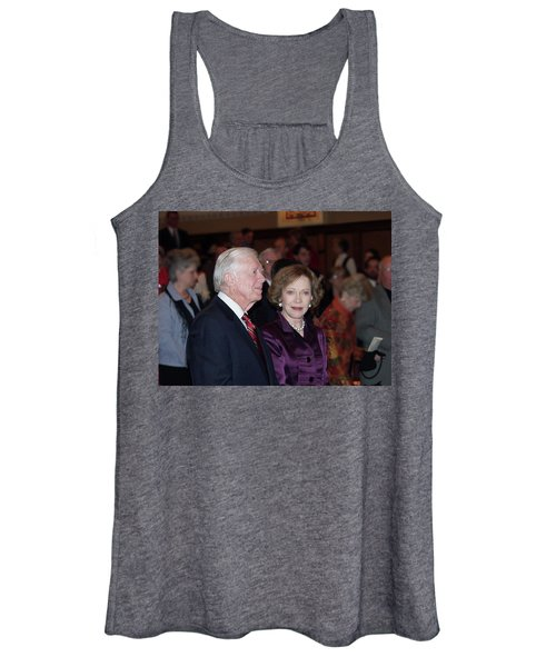 President And Mrs. Jimmy Carter Nobel Celebration Women's Tank Top