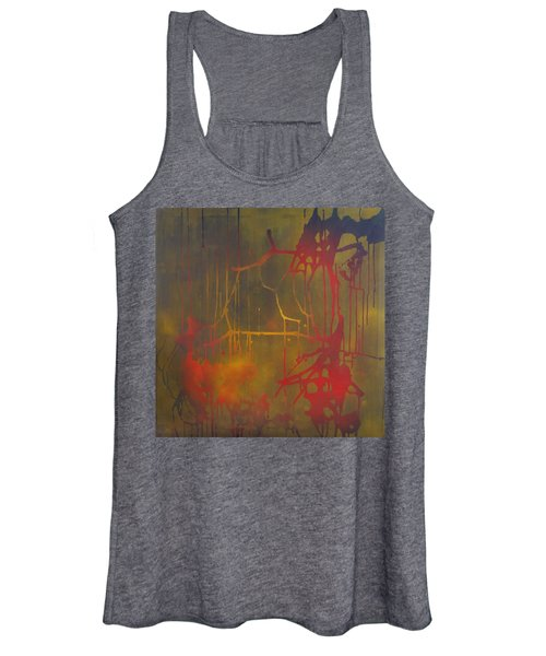 Pretty Violence On A Screen Door Women's Tank Top