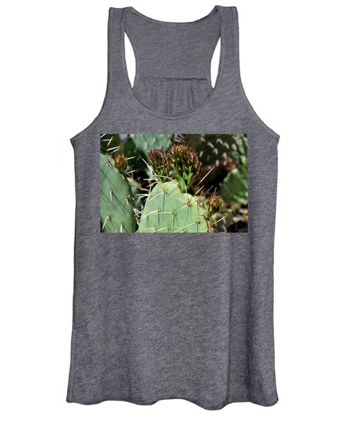 Prickly Pear Buds Women's Tank Top