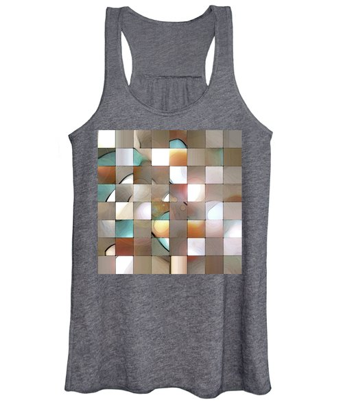 Women's Tank Top featuring the digital art Prism 1 by Gina Harrison