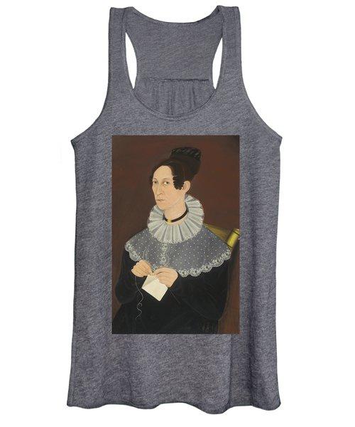 Probably Sarah Cook Arnold Knitting Women's Tank Top