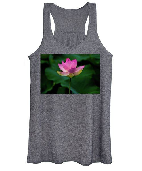 Profile Of A Lotus Lily Women's Tank Top