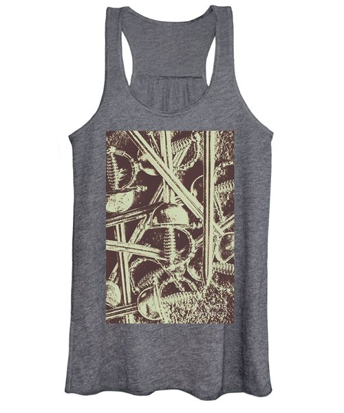 Protecting The Iron Gate Women's Tank Top