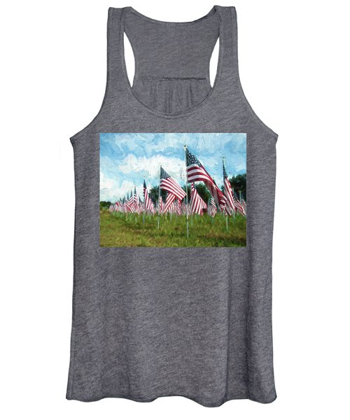 Proud And Free Women's Tank Top