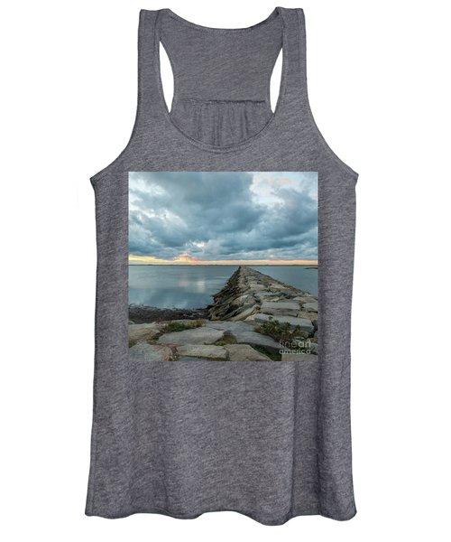 Provincetown Breakwater #3 Women's Tank Top