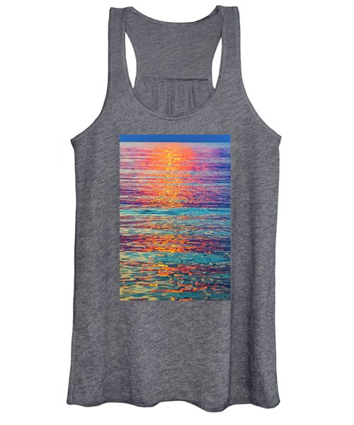 Psychedelic Sunset Women's Tank Top