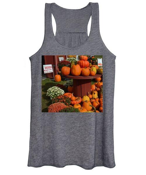 Pumpkin Display Women's Tank Top