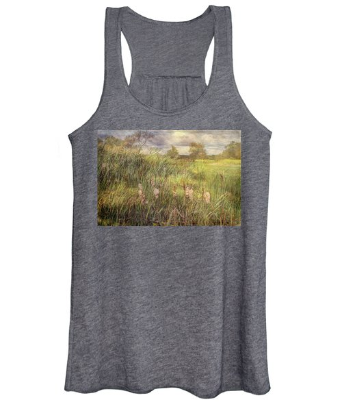 Cat O Nine Tails Going To Seed Women's Tank Top