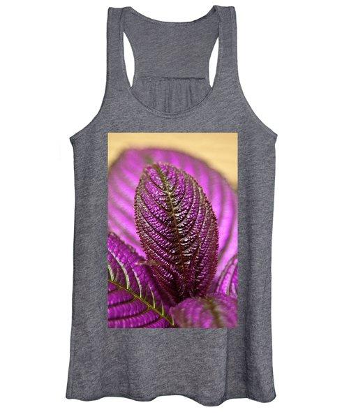 Purple Coleus Women's Tank Top