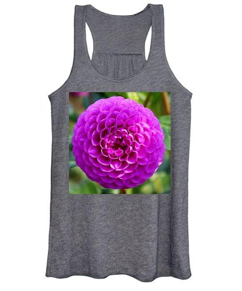 Purple Dahlia Women's Tank Top