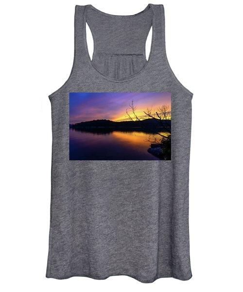 Purple Lake Women's Tank Top