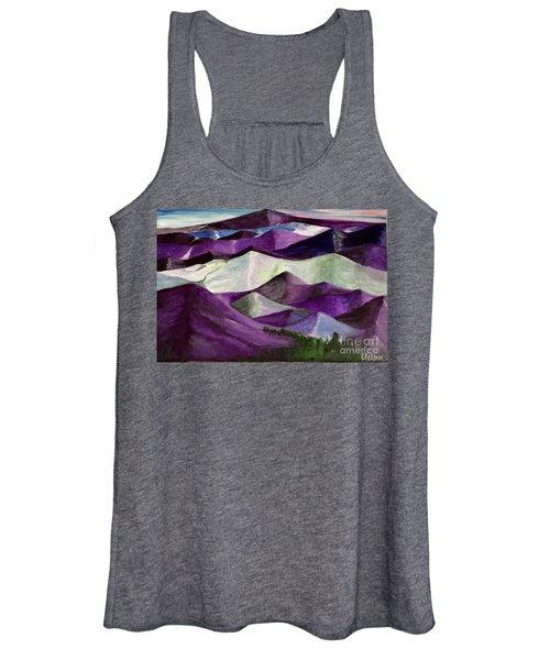 Purple Mountains Majesty Women's Tank Top